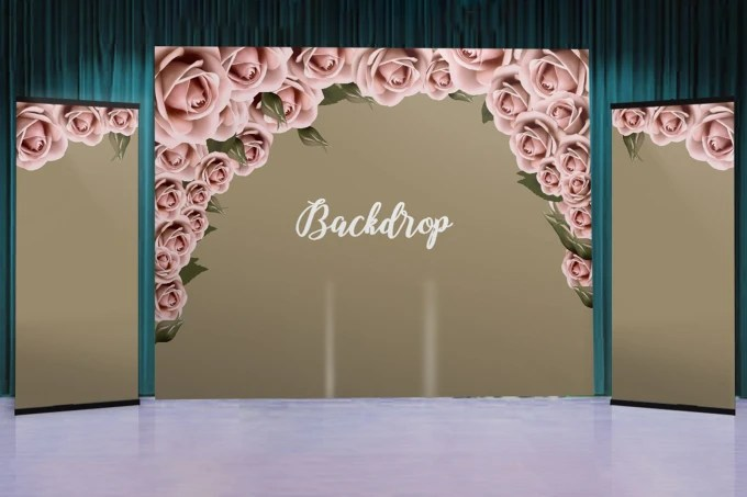design backdrop for your