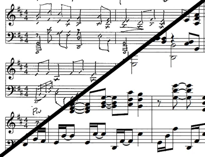 Typeset your handwritten musical score by Sabiansoldier
