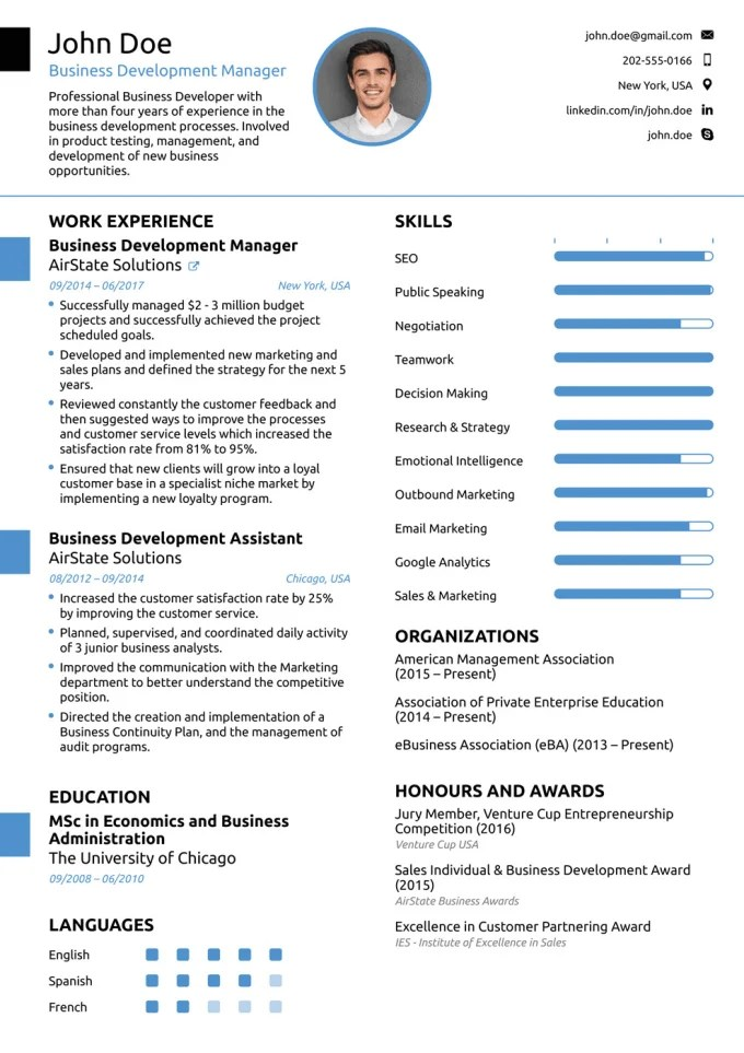 Make Resume For You As Want By Amirmughal22