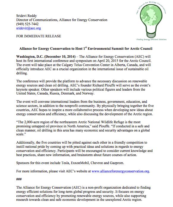 press release format ap style
