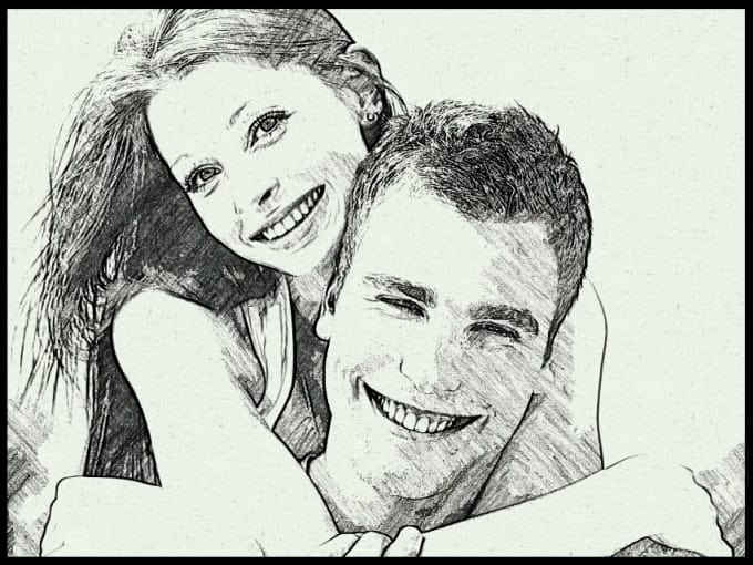 Turn your picture into a exclusive pencil sketch by Chanakacg