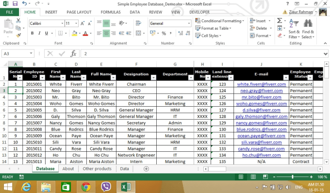 Do Microsoft Excel And Google Spreadsheet By Zrliton