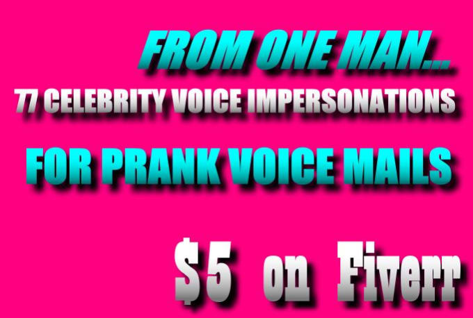 prank funny voicemail celebrity