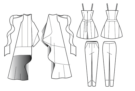 Do fashion cad drawing by Fashionlovers91