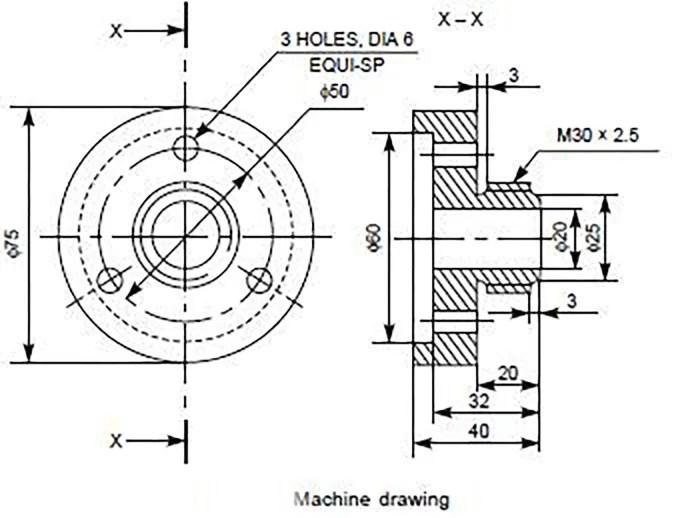 Make autocad engineering drawing by Khaledsayed179