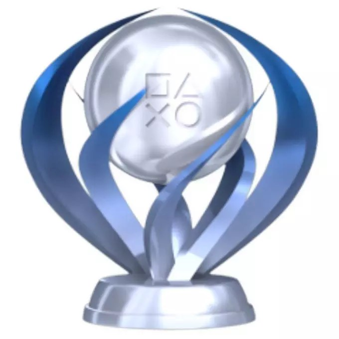 Image result for platinum trophy