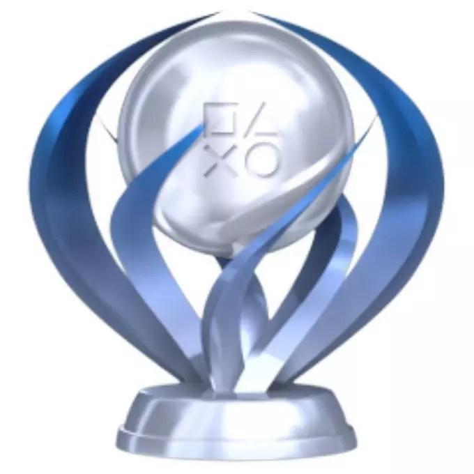 Image result for platinum trophy