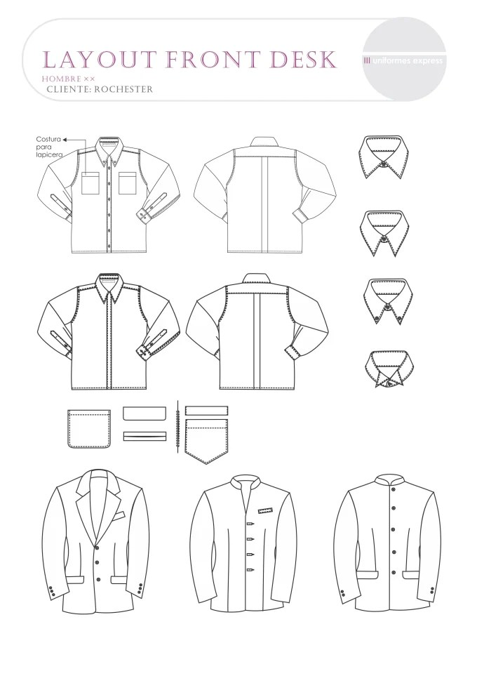 Do garment and apparel technical drawings or fashion flats