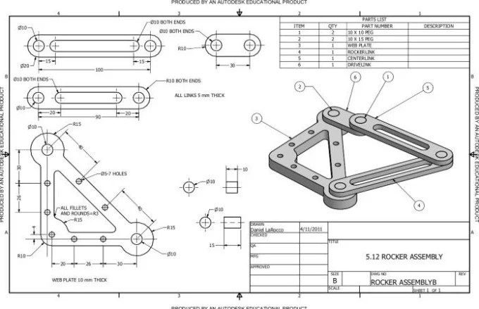 Do technical drawing, mechanical design and 3d cad