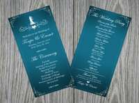 Design your elegant wedding program by Natoyachung