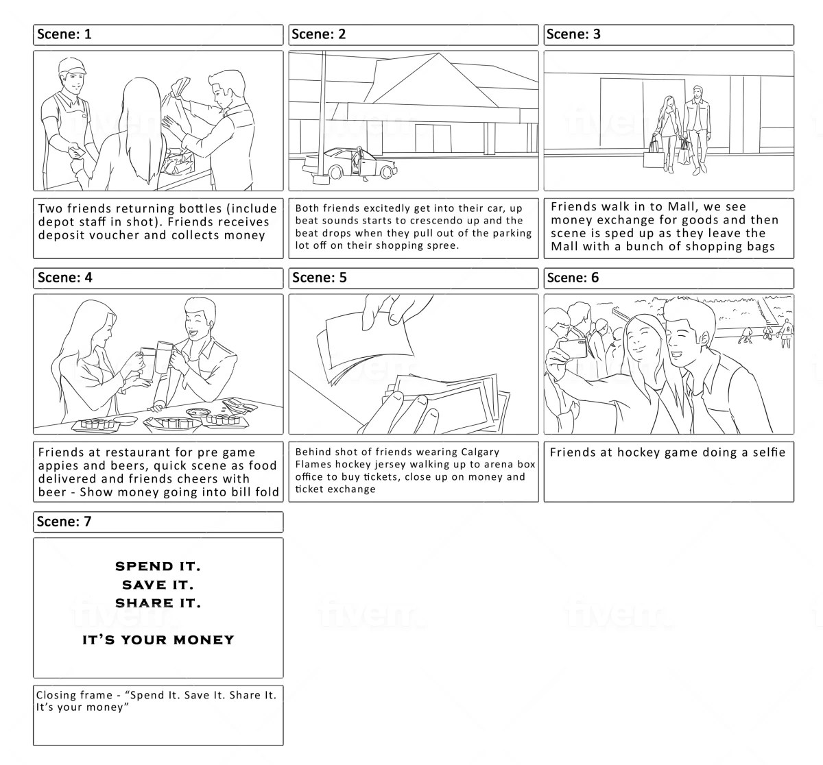 Script Storyboard Script Storyboard Script Storyboard Template