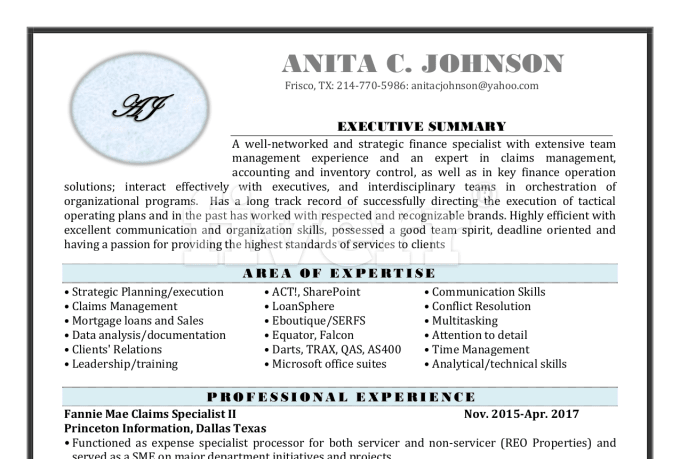 Be your resume writer for ats resume resume rewrite