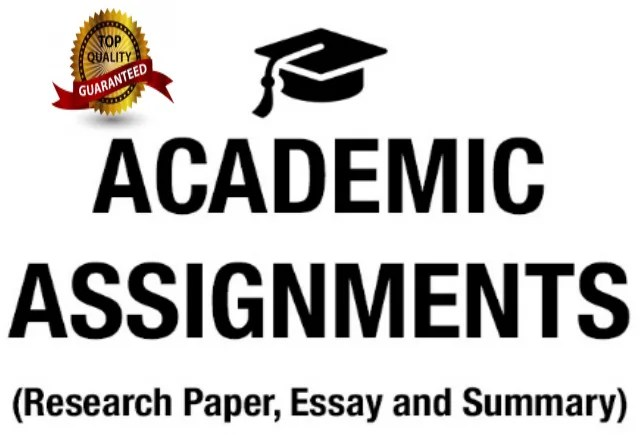 professional academic writing, editing, & research