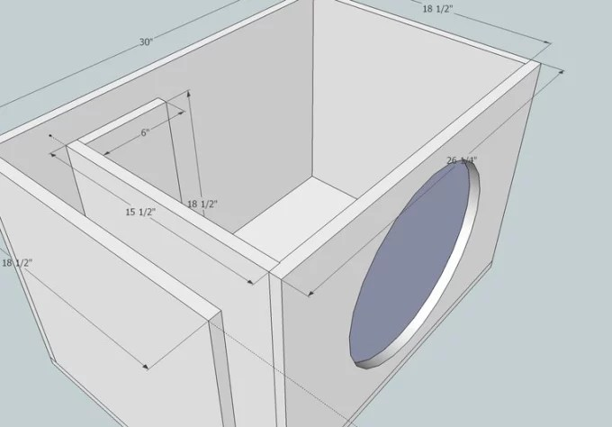 Make You A Custom Competition Subwoofer Enclosure Design