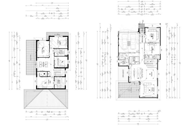 Design your architectural floor plan in autocad by Sadi24