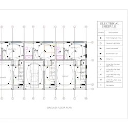 Draw floor plan, contemporary elevation, and site plan by