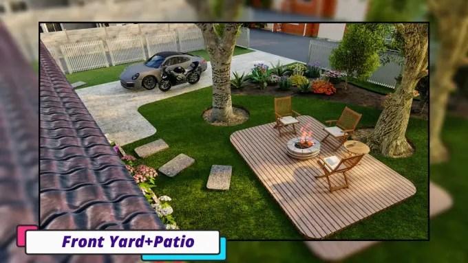 create 3d modeling and rendering home design for your zen garden backyard