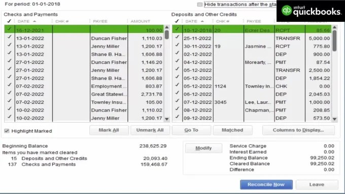 Do Bank Reconciliation On Quickbooks Online By Enam72
