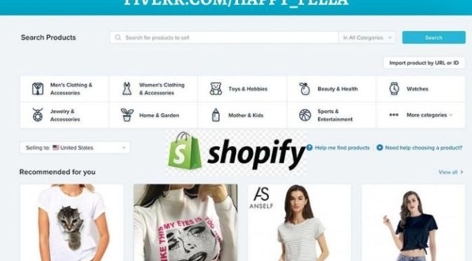 I will set up a lucrative shopify dropshipping store, and website