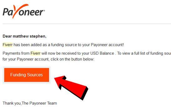 cách rút tiền từ fiverr về payoneer 5