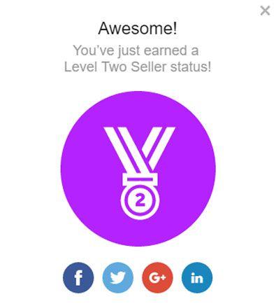 cấp bậc người bán trên fiverr 2