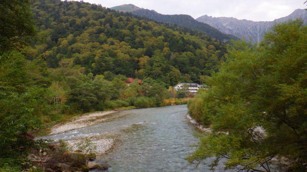 田代橋からの眺め