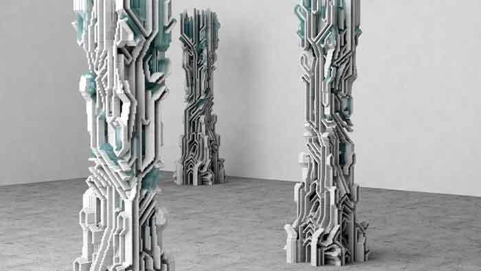 Amalgamma: A New Way To  Concrete Architecture 3-D Printing