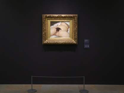 Mystery solved? Identity of Courbet's 19th-century nude revealed