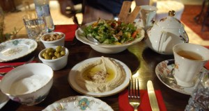"""The Signature Dish at Banksy's Bethlehem Hotel Is the """"Walled Off Salad"""" (Hold the Mayo)"""
