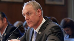 Ryan Zinke Is the Blue Wave's First Casualty