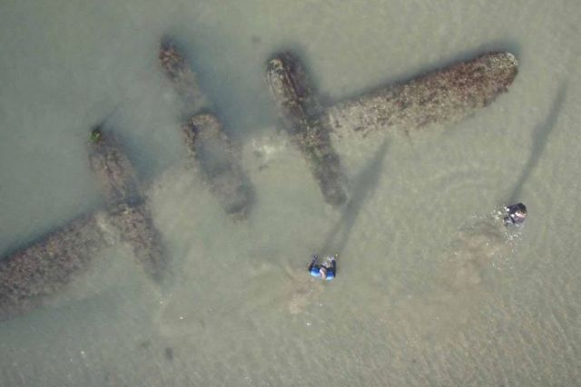 P-38 Found On Welsh Beach