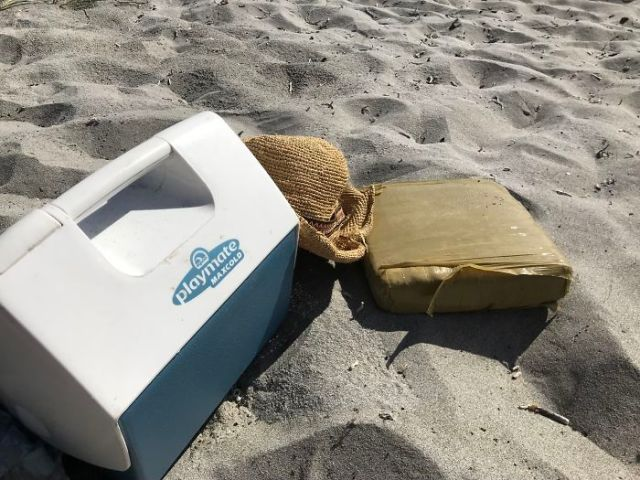 This Kilo [Of Cocaine] My Mom Found Washed Up On A South Florida Beach This Morning