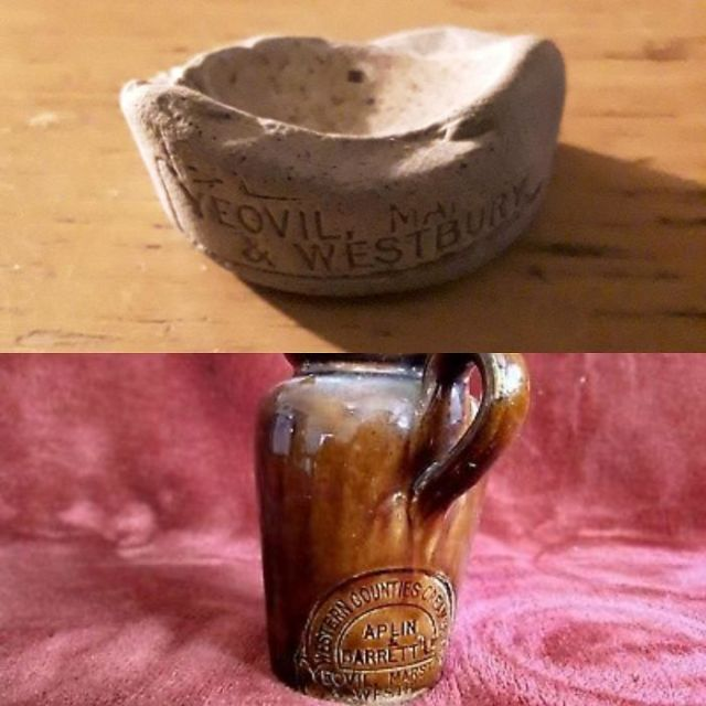 Found On Whitley Bay Beach, UK. A Quick Google Search Found It's The Bottom Of A Stone Cream Jug, C.1890's, With The Glaze Worn Off. Amazed The Writing Is Still So Sharp!
