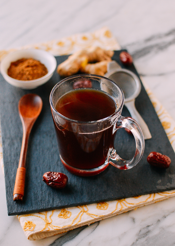Chinese Ginger Tea with Red Dates