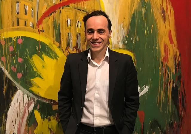 Gaudêncio Fidelis, curator of Queermuseu (Photo: Lewis Jennings / Index on Censorship)