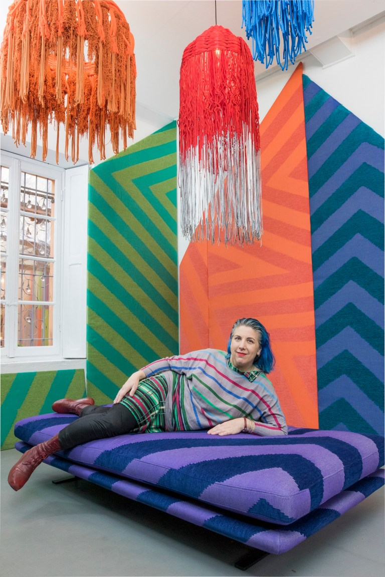 Queer Artists in Their Own Words: Liz Collins Wants to Decorate a Hotel With an Unrestricted Budget