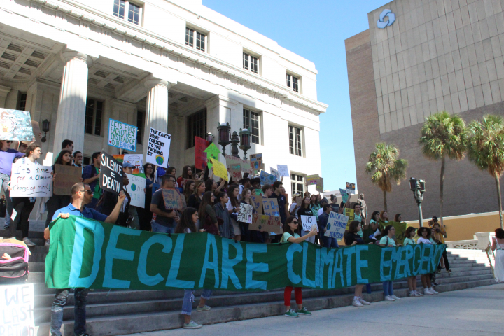 During Art Basel Miami Beach, Young Climate Strikers Urge the Art World to Pay Attention