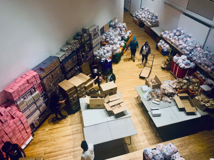 Queens Museum Hosts Food Pantry to Help NYC Borough at Epicenter of COVID-19 Crisis