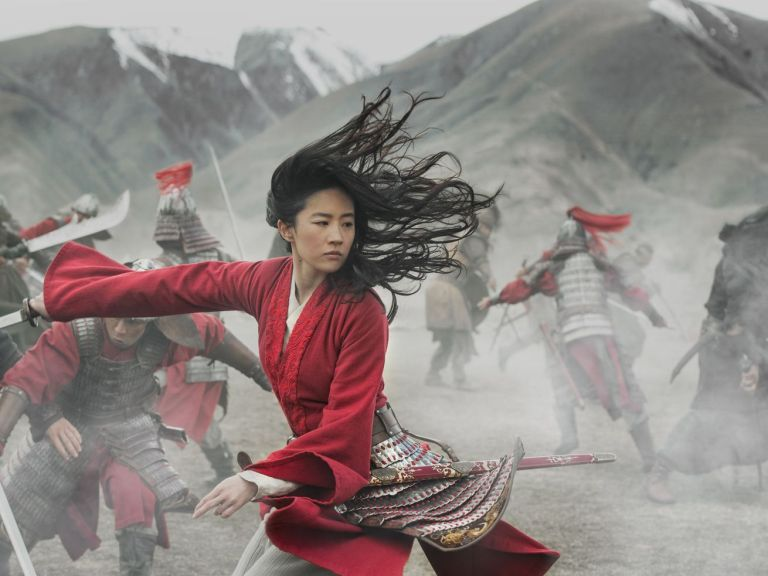 Mulan's costumes are bright, dramatic, and (mostly) historically accurate