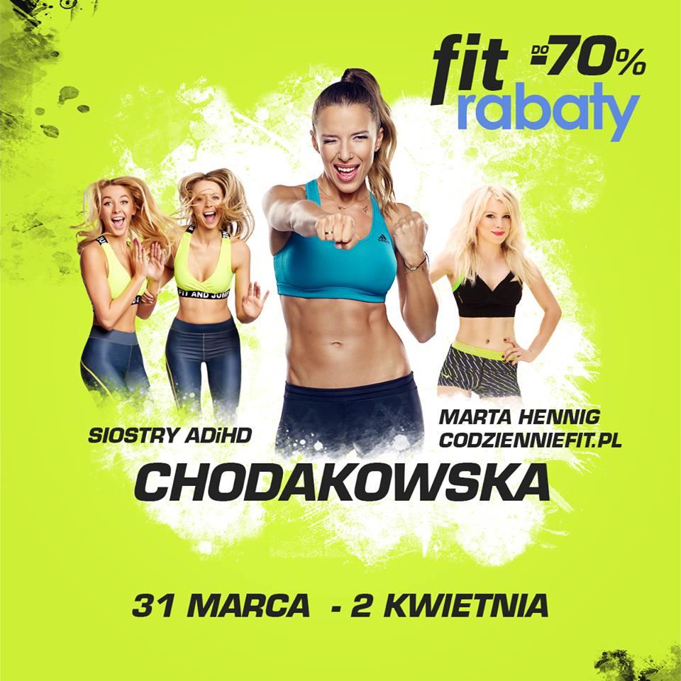 Trening z Ewą Chodakowską, Siostrami ADiHD oraz Codzienniefit.pl