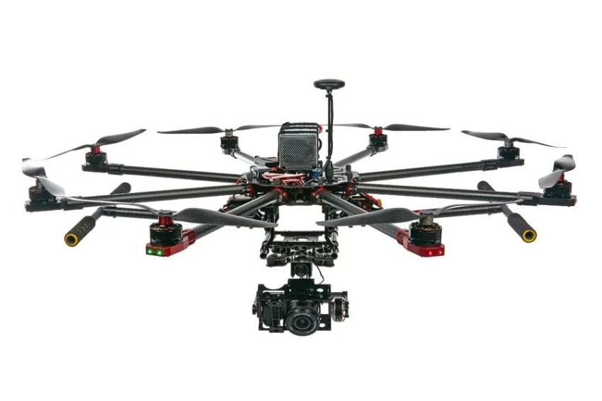 SkyhawkRC-F900-RC-Carbon-fiber-Octocopter-frame-kit-with-retractable-skid-FPV-drone-camera-aerial-photography