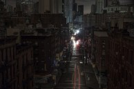 chinatown in the dark