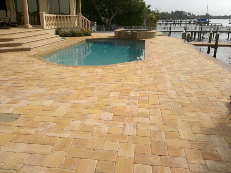 Brick Stone Patio Designs