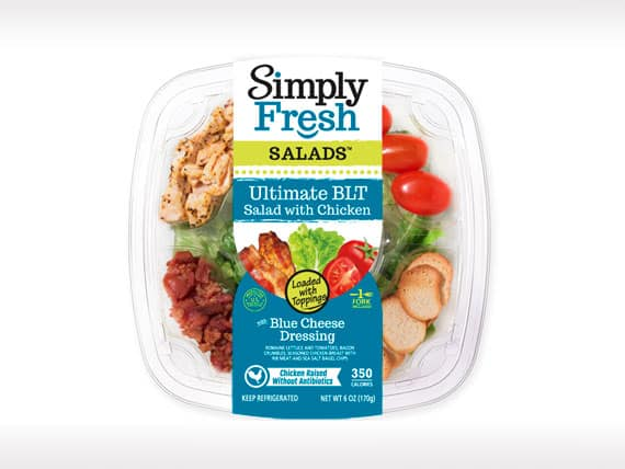 Ultimate BLT Salad<br>with Chicken