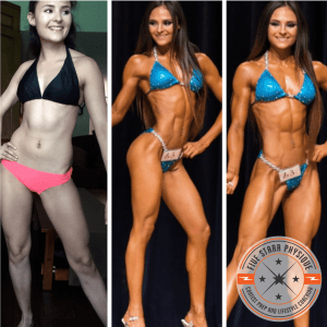FSP client Angelica before & after