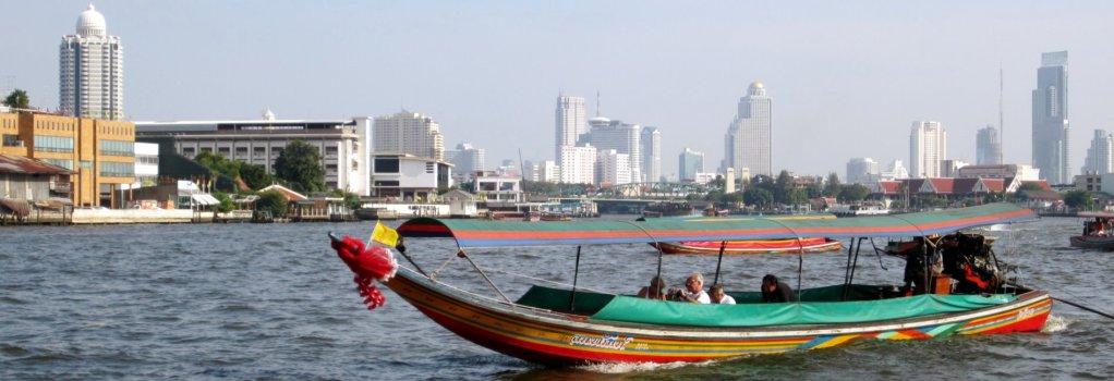 Chao Phraya-Bangkok-river