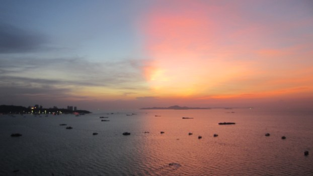 Thailand-sunsets-Storms-pattaya