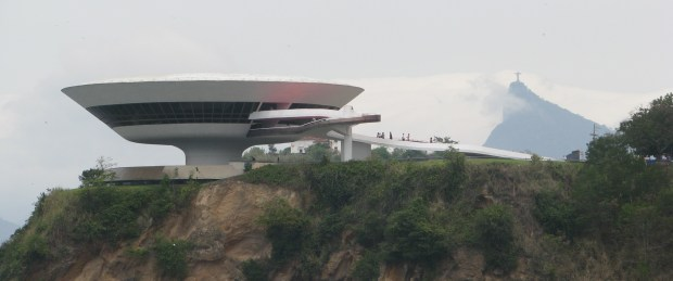 Niteroi across bridge