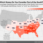 Which States Are In The South Fivethirtyeight