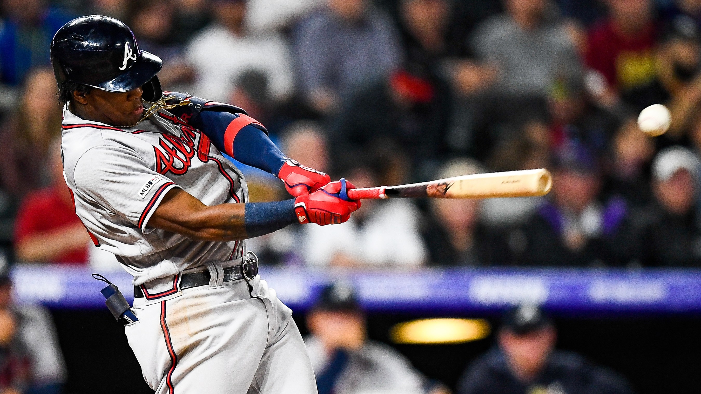 Braves Wallpaper Iphone Ronald Acuna Is Quietly Getting Better And That S Scary